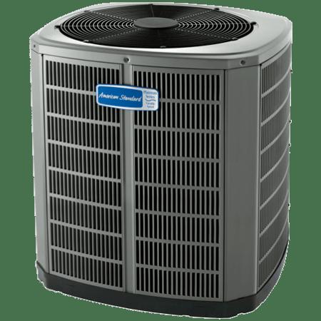 American Standard Variable Speed Platinum 18 Air Conditioner.